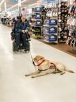 Owen waits for John while he's shopping